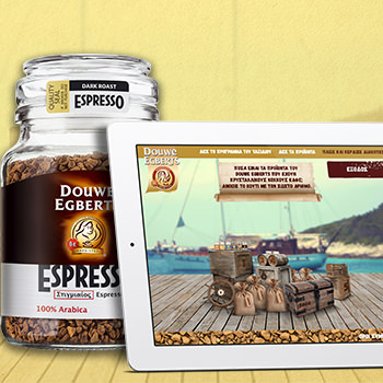 Douwe Egberts Coffeeboat